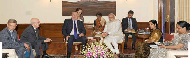 Visit of Deputy Chairman of the Government of the Russian Federation to India (June 18-19, 2014)