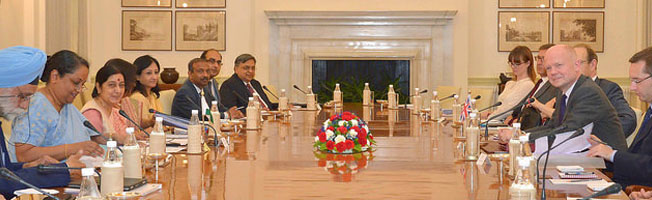 Visit of Foreign Secretary of United Kingdom to India (July 7-8, 2014)