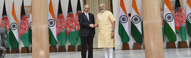 Working Visit of President of Afghanistan to India (September 14-15, 2016)