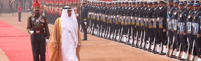 State Visit of Crown Prince of Abu Dhabi to India (January 24-26, 2017)
