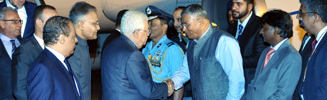 State Visit of President of the State of Palestine to India (May 14-17, 2017)