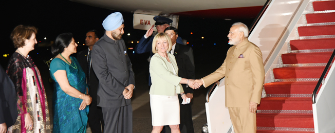 Visit of Prime Minister to USA (June 25-26, 2017)