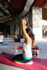 The first International Day of Yoga being celebrated in Albania ​