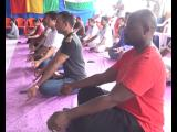 The first International Day of Yoga being celebrated in ​Guinea