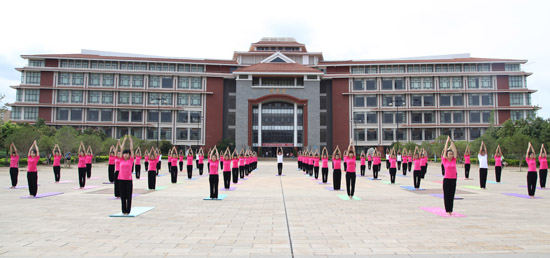 First International Day of Yoga Celebrations in Kunming, China