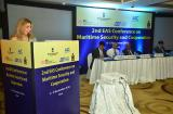 Ms. Pooja Kapur, JS (ASEAN ML) delivering the Inaugural Address at the 2nd EAS Conference on Maritime Security and Cooperation in Goa, 4 November 2016
