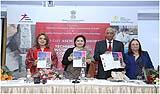 "Release of book ""Asia-Europe Network of Urban Heritage for Sustainable Creative Economies"" at the Inaugural Ceremony on 6 February 2017."