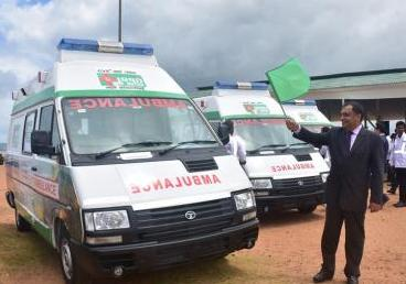 (Sri Lanka) Launch of Emergency Ambulance Ser...