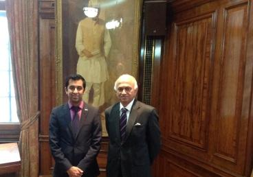 High Commissioner's meeting with Mr. Humza Yousaf,...