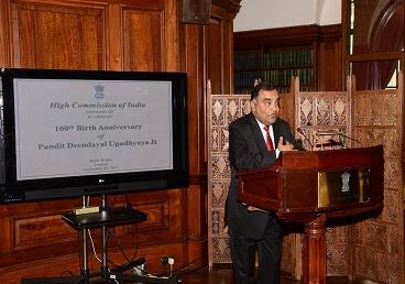 High Commission of India in the UK celebrated...