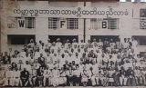 First World Fellowship of Buddhist Conference at Sri Lanka in 1950. Dr. Ambedkar and Mrs. Ambedkar with the delegates and observers from all over the world are seen in the photograph