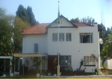 Chancery, Embassy of India, Harare