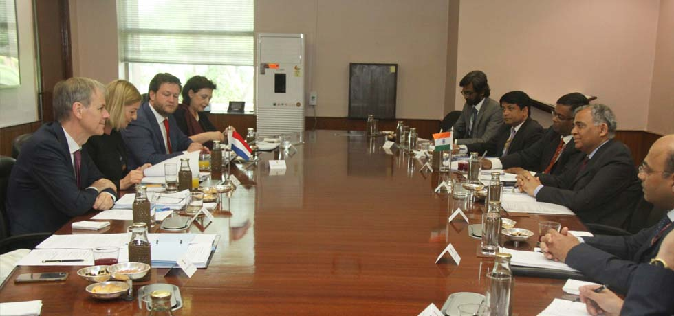 India-Netherlands Foreign Office Consultations take place in New Delhi