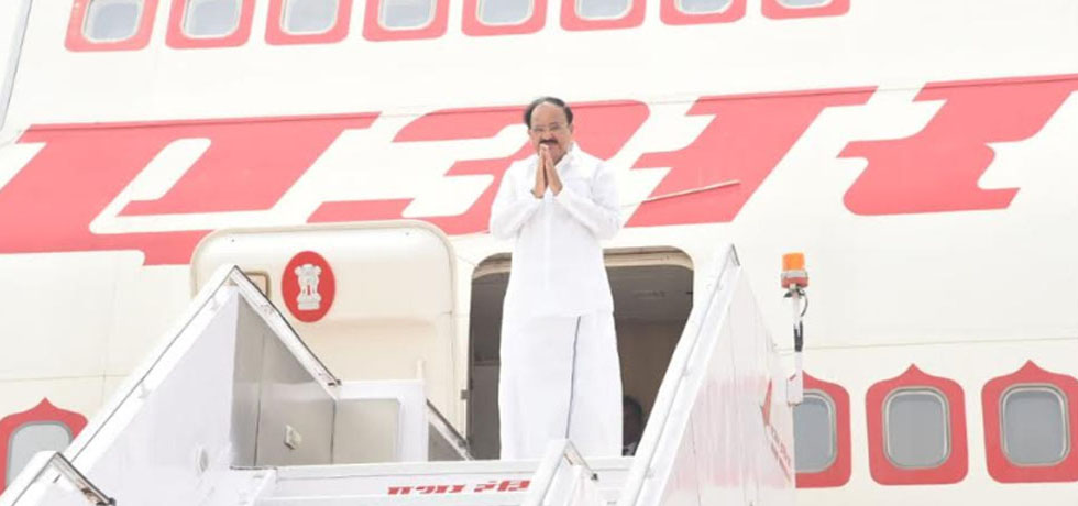 Vice President departs on his 4-day Official Visit to Vietnam