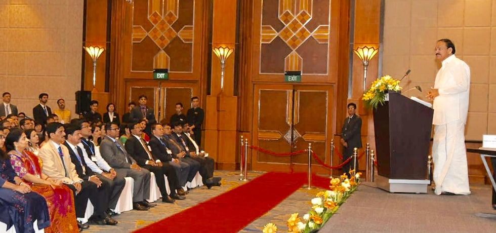 Vice President addresses Indian Community in Hanoi during his Official Visit to Vietnam