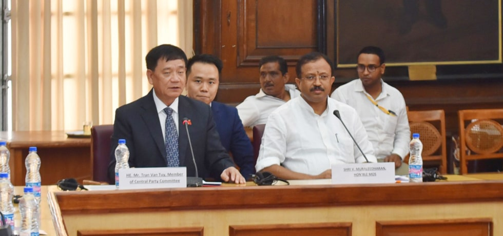 Minister of State for External Affairs meets Vietnamese Delegation in New Delhi