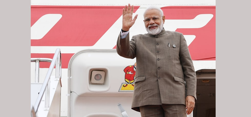 Prime Minister departs from Osaka after successful completion of his 3-day visit to Japan to attend G20 Summit 2019