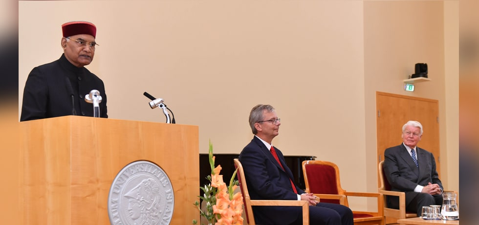 President delivers his address at the University of Iceland in Reykjavik