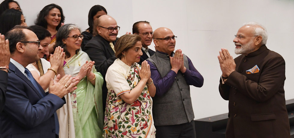 Prime Minister interacts with Indian Community in Houston