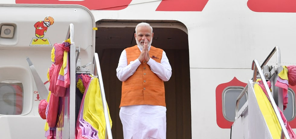 Prime Minister arrives in Bangkok on his 3-day visit to Thailand