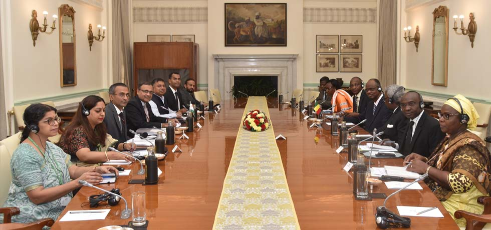 India- Mali Foreign Office Consultations takes place at Hyderabad House, New Delhi