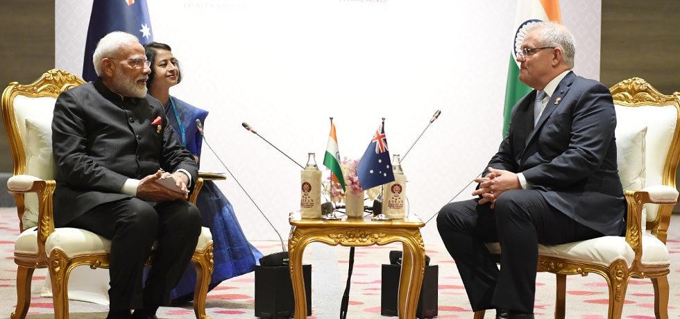 Prime Minister meets Scott Morrison, Prime Minister of Australia on the sidelines of 35th ASEAN Summit 2019 in Bangkok