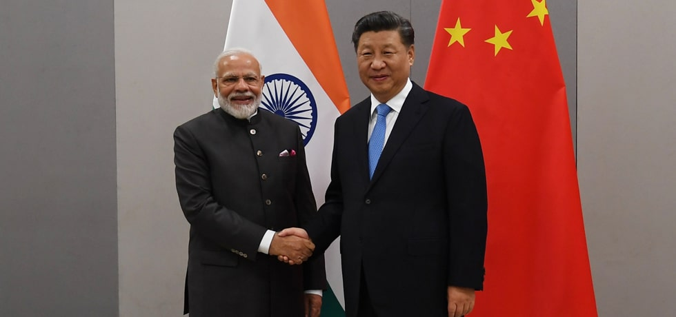 Prime Minister meets Xi Jinping, President of China on the sidelines of 11th BRICS Summit in Brasilia