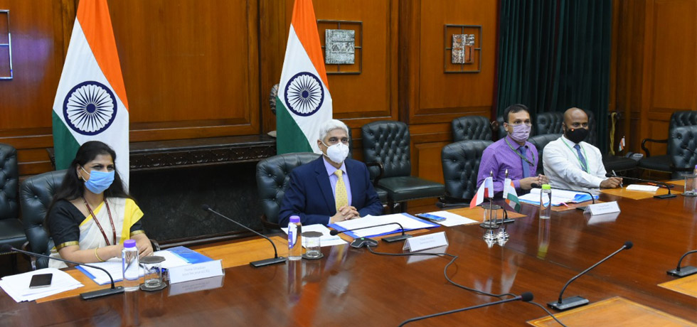 Secretary(West) participates in India-Poland virtual Foreign Office Consultations