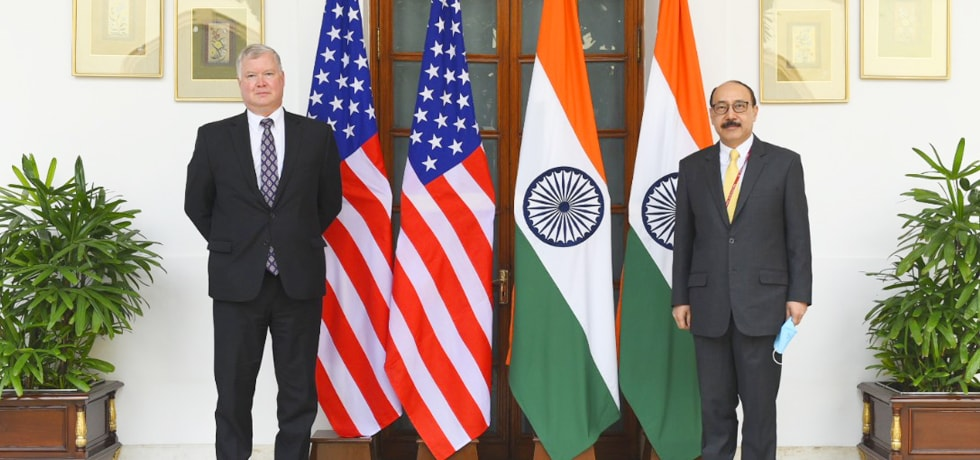 Foreign Secretary meets Stephen Biegun, U.S. Deputy Secretary of State in New Delhi