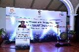 Smt. Preeti Saran, Secretary (East), addressing the distinguished guests.