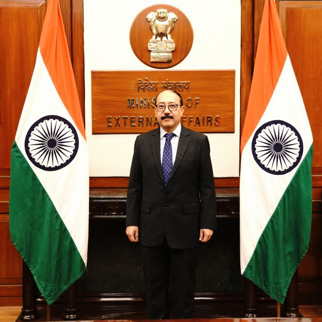 Shri Harsh Vardhan Shringla Foreign Secretary